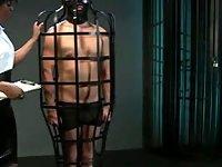Masked sub fucks ebony mistress ethnic dominatrix video on StupidCams