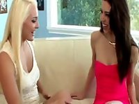 Teen lesbians sixtynine video on StupidCams