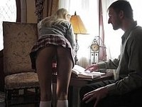 After school hard cock video on StupidCams