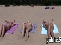 Naked Teen Girls At Nude Beach video on StupidCams
