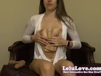 Lelu Love-Uncircumcised Penises Are Better Demo video on StupidCams