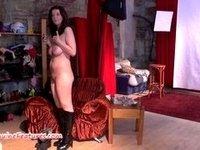Czech 24yo amateur shows her big boobs video on StupidCams