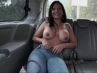 Colombian ass in Colombian bus video on StupidCams