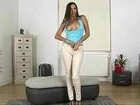 Long legged Russian girl who wants to stay video on StupidCams