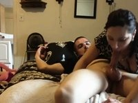 blowjob sperm in her mouth video on StupidCams