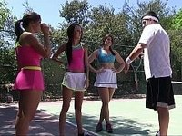 Summer camp tennis sluts video on StupidCams