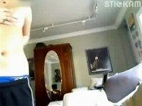 Stickam Teen video on StupidCams