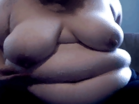 Obese mature masturbation video on StupidCams