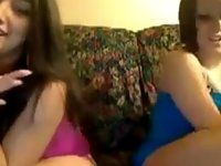 Teen Girls Strip And Have Some Fun video on StupidCams