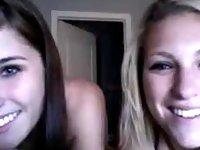 Stunning Teen Striptease video on StupidCams