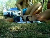 Gorgeous Girl Fucks Outdoors video on StupidCams