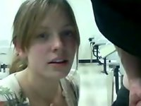 Amateur Gets A Facial Cumshot 2207 video on StupidCams