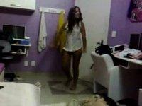 Teenager On Webcam video on StupidCams