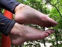 Tasty little feet! video on StupidCams