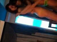 Russian Lesbians video on StupidCams