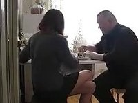 Juvenile Russian legal age teenager receives drilled by older fellow video on StupidCams