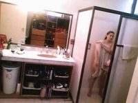 Naughty Son Set-Up Spy-Cam To See His Mom Naked video on StupidCams