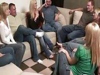 Party game leads to massive amateur orgy video on StupidCams
