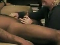 Husband watches amateur anal fuck a stud video on StupidCams