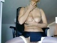 gorgeous and classy german milf on her online cam video on StupidCams