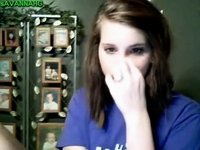 Gorgeous teen webcam video on StupidCams