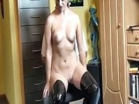 US amateur master and slave video on StupidCams