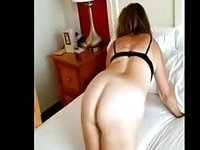 grandma porn shaved pussy plugged and sucking cock video on StupidCams