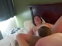 amateur 3some with my nympho amateur anal video on StupidCams