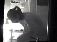 Busty teenage neighbor topless video on StupidCams