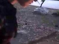 sweet outdoors camping fuck video on StupidCams