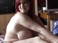 amateur solo with my curvy redhead pussy lover fingering pussy video on StupidCams