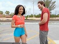 Smooth saleswoman video on StupidCams