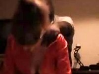 Hot blindfolded pussy fucking getting slammed by big black ass guy video on StupidCams
