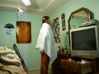 motherless.com.Teen caught changing after shower - MOTHERLESS.COM.flv video on StupidCams