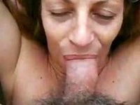Great suck almost gags on humongous load of spunk video on StupidCams