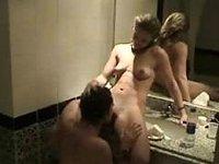 Czech couple egyptian bathroom video on StupidCams