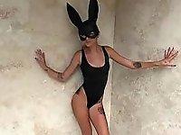 Naughty bunny video on StupidCams