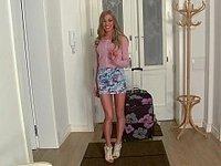Long legged Latvia girl Lolly Gartner video on StupidCams