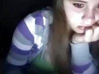 Busty immature Miranda video on StupidCams