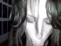 French girl laughs from Cum in her mouth video on StupidCams