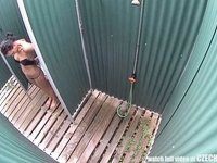 Pretty Czech Girl in the Shower video on StupidCams