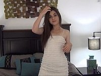 18yo Persian teen's masturbating on camera for the first time video on StupidCams