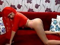 cam twerk hijab thong video on StupidCams