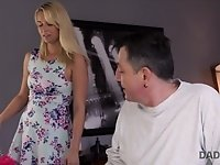 DADDY4K. Guy missed how his father fucks his girlfrie video on StupidCams