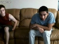 Brother and Sister invite friend video on StupidCams