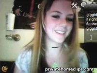 Hot Florida Teen Shows It All video on StupidCams