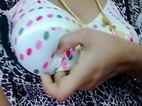 Tamil hot married girl showing her boobs to house owner video on StupidCams