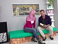 Sassy looking Muslim gets pounded video on StupidCams